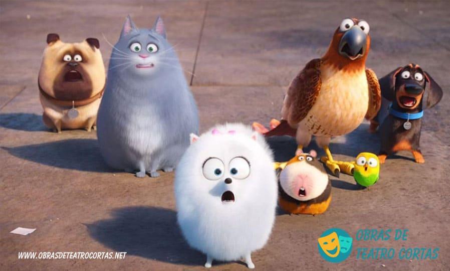 Cuando los animales hablan obras de teatro cortas de animales infantiles de 4 personajes
